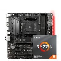 AMD 锐龙三代 Ryzen 5 3600 CPU处理器 + msi 微星 B450M MORTAR 迫击炮 主板 板U套装