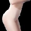 美·雅·挺 3条装女士内裤 女无痕棉裆高腰收腹塑身女式纯色三角底裤头 340 肤色+黑色+粉色 L