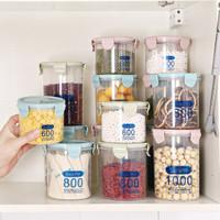 莱朗 透明塑料密封罐 3件套(600+800+1000ml) *2件