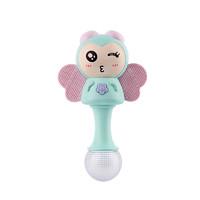 澳乐小蜜蜂节奏棒婴儿玩具0-1岁摇铃手摇铃音乐男孩女孩送礼玩具婴幼儿玩具