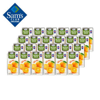 Member's Mark 英国进口 橙汁 200ml*24支 整箱装 100%果汁饮料 纯果汁