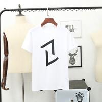侨宾尼 616 男士印花短袖T恤