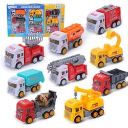 儿童玩具车工程车套 9只装