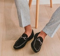 OZWEAR OB431 男士一脚蹬豆豆鞋