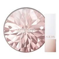 AGE20's 爱敬 钻石气垫 粉盒+口红 *2件