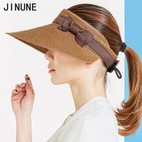 JINUNE E218-3 空顶大檐草帽