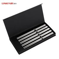 LINKFAIR 凌丰 菲尔系列 304不锈钢筷子 5双装