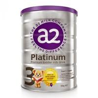 a2 新西兰 Platinum白金版婴幼儿奶粉3段900g¥189.0元