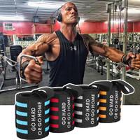 力量举加压健身护腕男举重训练手套护手腕扭伤绷带运动护具助力带