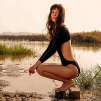 MEMORYBABY  CX26-女子露背连体泳衣