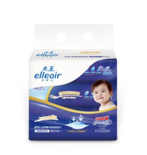 elleair 大王 奢润保湿婴儿抽纸 3层*100抽*3包(152.5*190mm)