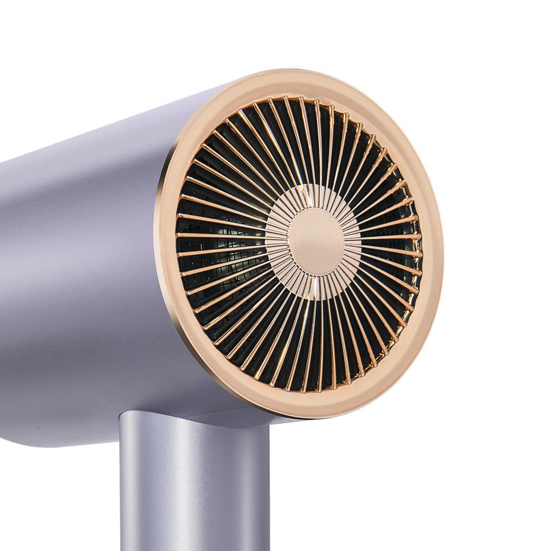 小米有品 HL512 直白水离子护发吹风机 (紫色、1800W)