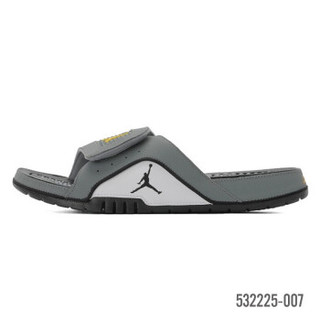 耐克NIKE AIR JORDAN HYDRO IV AJ4 黑红 男子运动拖鞋凉鞋532225 532225-007 40