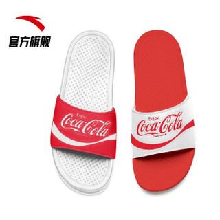 ANTA 安踏 91926983-1/18 可口可乐联名款拖鞋