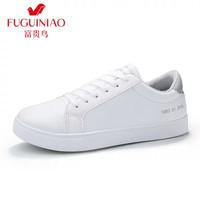 Fuguiniao 富贵鸟 SXP ZY5601 情侣款小白鞋女