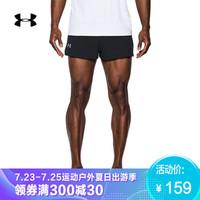 Under Armour 安德玛 UA男子Launch Split运动短裤-1289750 黑色001 XL