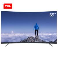 TCL 65T3 65英寸 4K 曲面 液晶电视