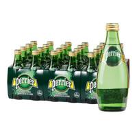 Perrier 巴黎水 气泡矿泉水 330ml*24瓶 *2件