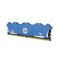 HP 惠普 V6蓝色 DDR4 3000MHz 台式机内存 8GB