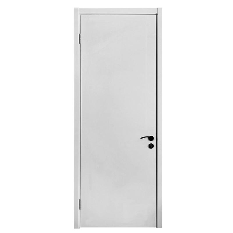 TATA木门 实木复合厨房套装门@001瓷白色