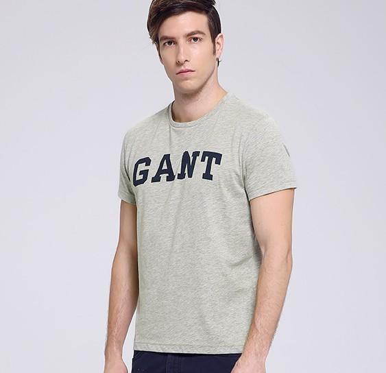 GANT 甘特 254130 男士字母短袖T恤