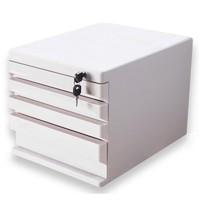 M&G 晨光 ADM95297 四层带锁文件柜 灰色 *3件 +凑单品