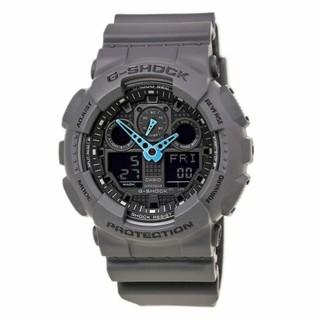 CASIO 卡西欧 G-SHOCK GA100C-8A 男士双显腕表