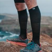 COMPRESSPORT 氧气版 竞赛马拉松越野跑长筒袜