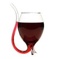 美天龙 吸管红酒杯 吸血鬼杯