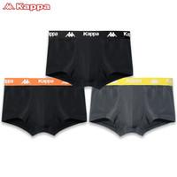 Kappa 卡帕 KP9K06 男士冰丝感中腰平角内裤 3条装