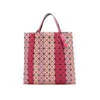 BAO BAO ISSEY MIYAKE 三宅一生 女士粉色多色拼色PVC手提包