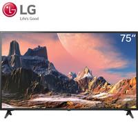 LG 75UK6200PCB 75英寸 超高清4K 智能平板液晶电视机