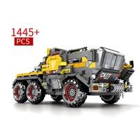 森宝 正版授权 流浪地球 CN373斗式运载车-车头1445颗粒 +凑单品
