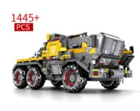 森宝 正版授权 流浪地球 CN373斗式运载车-车头1445颗粒+凑单品