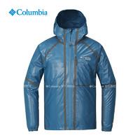 Columbia/哥伦比亚户外秋冬男款轻盈防雨冲锋衣RE0005