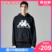 KAPPA卡帕男款运动卫衣休闲长袖套头帽衫外套2019新款|K0912MT35D