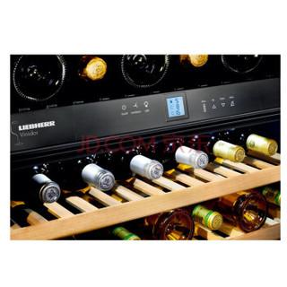 利勃海尔(LIEBHERR)502升 Vinidor系列三温区 独立式葡萄酒藏酒柜 奥地利原装进口 WTes5872