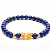 凤禧珠宝 黄金貔貅手链