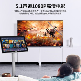 QiSheng 奇声 K20 KTV点歌机系统 金色立式 双系统 3TB
