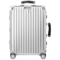 RIMOWA日默瓦 CLASSIC系列旅行拉杆箱972.52.00.4 银色20寸