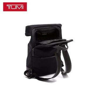 TUMI 途明 男士时尚卷顶双肩背包 066021D 黑色