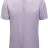 SEVEN 柒牌 衬衫修身青年男装商务休闲纯色简约男士衬衣方领 110A30160