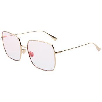Dior 迪奥 女款金色镜框粉色镜面镜片眼镜太阳镜Dior Stellaire1 000TE 59mm