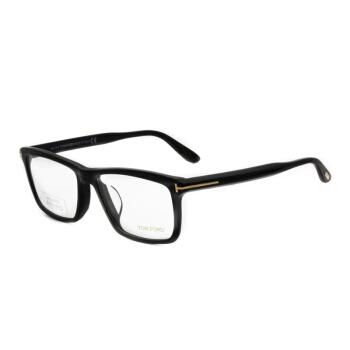 TOM FORD 汤姆·福特 中性黑色镜框黑色镜腿光学眼镜架眼镜框 TF5407-F-001 57MM