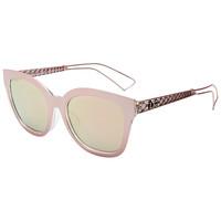 Dior 迪奥 女款粉色镜框粉色镀膜镜片眼镜太阳镜 DIORAMA1F TGWOJ 55mm