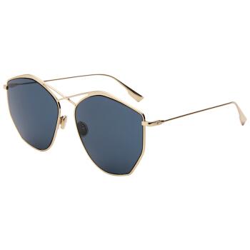 Dior 迪奥 女款金色镜框蓝色镜片眼镜太阳镜Dior Stellaire4 J5GKU 59mm