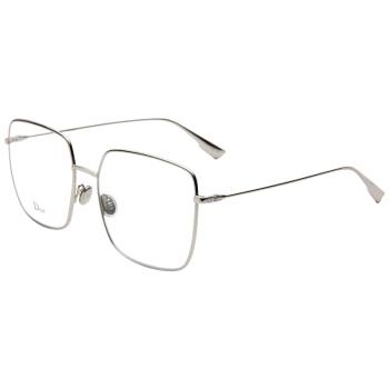 Dior 迪奥 男女款银色镜框银色镜腿光学眼镜架眼镜框STELLAIRE01 010 56MM