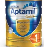 Aptamil 爱他美 金装 婴儿奶粉 1段 900g 3罐装