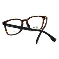 Hugo Boss 雨果博斯 BOSS 眼镜框 近视眼镜架超轻全框光学镜架男女款玳瑁色眼镜 BOSS 1023/F-086-53