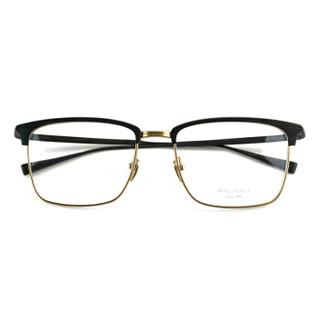 masunaga 增永眼镜男女复古全框眼镜架配镜近视光学镜架SWING #29 黑框金圈